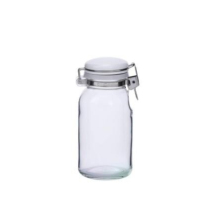 セラーメイト 保存 瓶 ワンプッシュ 便利びん 調味料入れ ドレッシング ボトル ガラス 容器 300ml 日本製 223422