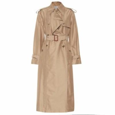ヴァレンティノ Valentino レディース トレンチコート アウター Cotton and silk trench coat