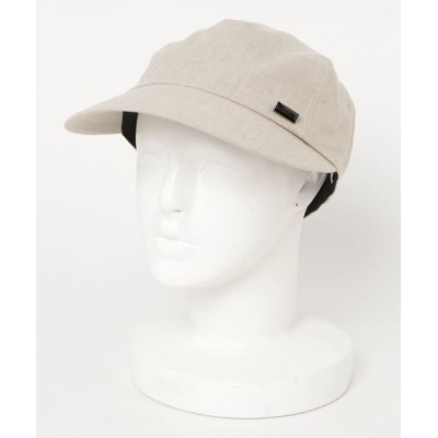 general design store / リネン ワイド メッシュキャップ MEN 帽子 > キャップ