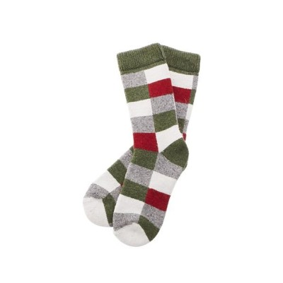 (BACKYARD/バックヤード)HFOOTWEAR hfootwear ウール混合靴下/レディース グリーン