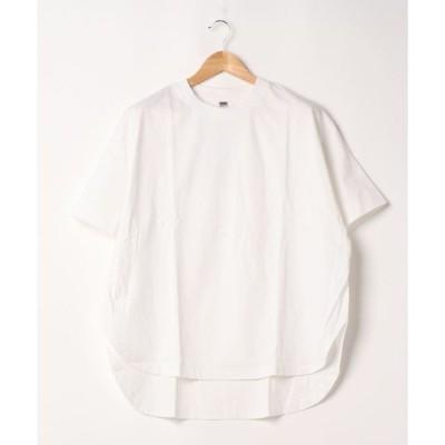 tシャツ Tシャツ CR ドルマンクルーネックラウンドチュニック