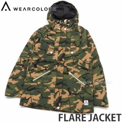 ウェア カラー FLARE JACKET カラー:FOREST