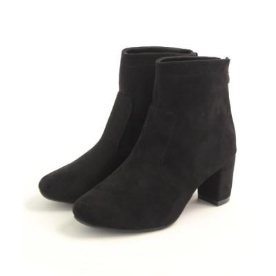 SOROTTO / 4E幅広 6.5cmヒールのストレッチショートブーツ WOMEN シューズ > ブーツ
