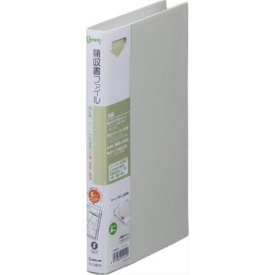 KINGJIM キングジム 領収書ファイル A4 1 3 2380H ライトグレー