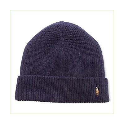 [ポロ ラルフ ローレン] ワンポイントニット帽 6F0101 メンズ HUNTER NAVY US F-(FREE サイズ)「並行輸入品」
