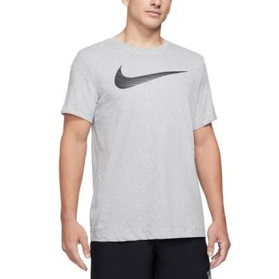 ナイキ メンズ Tシャツ トップス Men's Swoosh Dri-FIT Logo Graphic T-Shirt