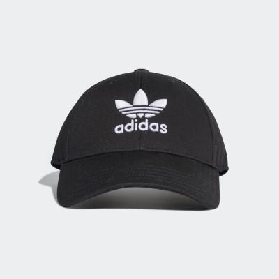 アディダス adidas トレフォイル クラシック ベースボール キャップ / TREFOIL CLASSIC BASEBALL CAP (ブラック)