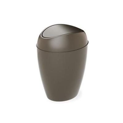umbra スイングふた付ゴミ箱 ペール ごみ箱 ダストボックス シャドウグレー 9L TWIRLA 21009613116