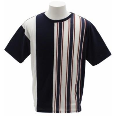 タイムリーワーニング(Timely Warning)Tシャツ メンズ ALL OVER 半袖 8551082-NVY オンライン価格 (Men's)
