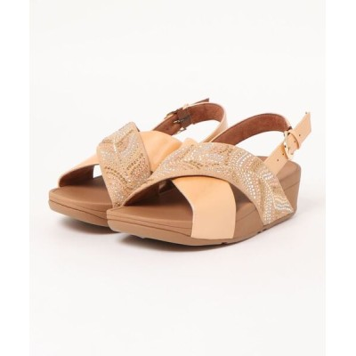 fitflop / LULU CRYSTAL FEATHER BACK-STRAP SANDALS WOMEN シューズ > サンダル