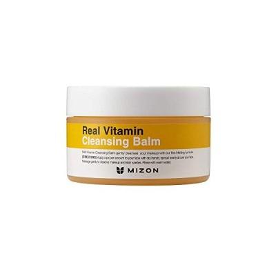 MIZON リアル ビタミン クレンジングバーム 100g (ビタミンC 化粧落とし クレンジング バーム 敏感肌) REAL VITAMIN CLE
