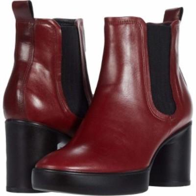 エコー ECCO レディース ブーツ チェルシーブーツ シューズ・靴 Shape Sculpted Motion 55 Chelsea Boot Syrah