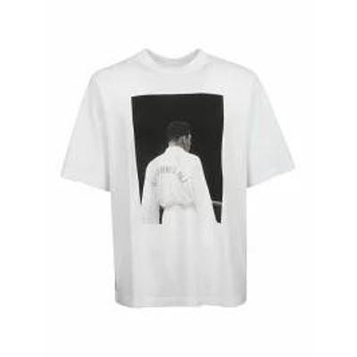 Marcelo Burlon メンズトップス Marcelo Burlon Muhammad Ali T-shirt White
