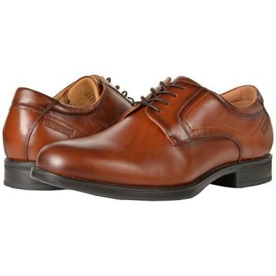 フローシャイム Midtown Waterproof Plain Toe Oxford メンズ オックスフォード Cognac Smooth