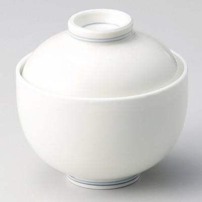 業務用食器 クリーム釉 円菓子碗 φ10.7×10.5�