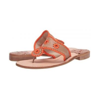 Jack Rogers ジャックロジャース レディース 女性用 シューズ 靴 サンダル Jacks Flat Neon - Buff/Orange