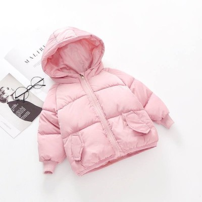 子供冬服 可愛い ダウンジャケット ダウンコート フード付き 男の子 女の子 中綿コート ショート丈 キッズ あったか 防寒 秋冬 大きいサイズ