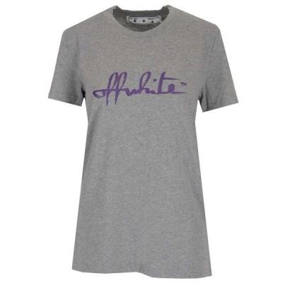 オフホワイト レディース Tシャツ トップス Off-White Logo T-Shirt -