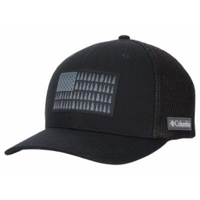 コロンビア メンズ 帽子 アクセサリー Columbia Mesh¢ Tree Flag Ball Cap Black