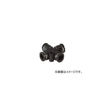 日本ピスコ/PISCO チューブフィッティングミニタイプ クロスエイ PZA4M(4427912)