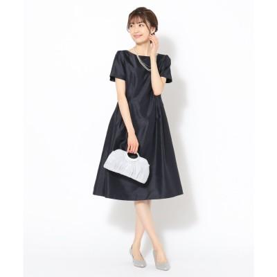 any SiS ロイヤルレディシャンタン ドレス (ネイビー)