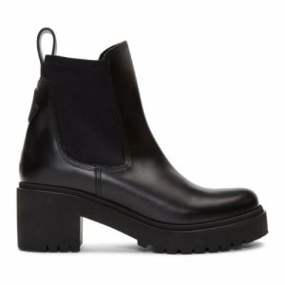 モンクレール Moncler レディース ブーツ シューズ・靴 Black Vera Boots Black