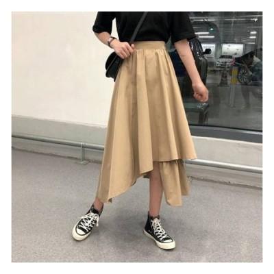 ロング ロングスカート マキシスカートレディース ファッション スカート ボトムス 大きいサイズ フレアスカート フレア 春スカート 春 韓国 ファッション レ
