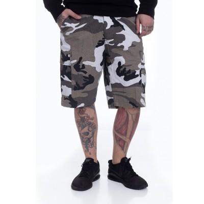 ブランディット Brandit メンズ ショートパンツ ボトムス・パンツ - BDU Ripstop Urban - Shorts camouflage