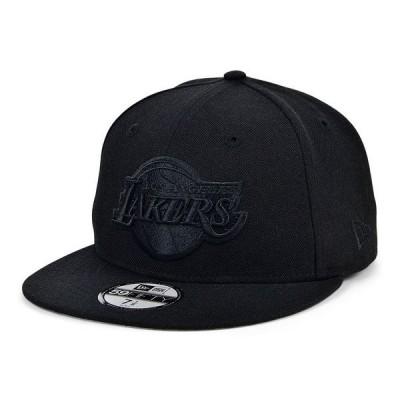 ニューエラ 帽子 アクセサリー レディース Los Angeles Lakers Reflective Patch 59FIFTY Cap Black