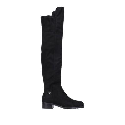 TUA BY BRACCIALINI ブーツ ブラック 36 紡績繊維 ブーツ