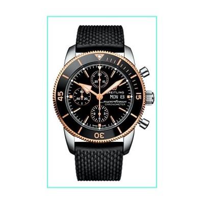 Breitling Suprocean Heritage II Black Gold Chronograph 44 U13313121B1S1並行輸入品