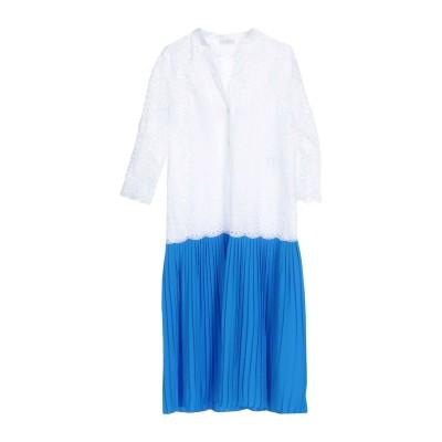 SANDRO 7分丈ワンピース・ドレス ホワイト 38 コットン 100% / ポリエステル 7分丈ワンピース・ドレス