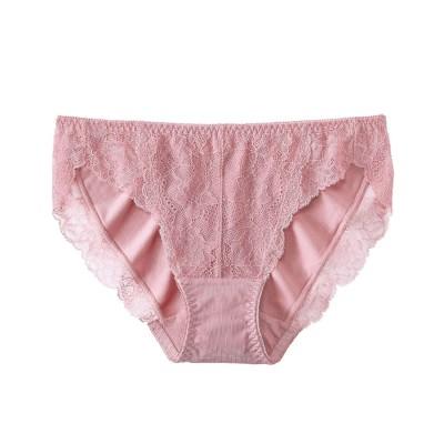 【プレーンショーツ】Lace プレーンショーツ2 ピンク系(PI12)/PI12 【返品不可商品】