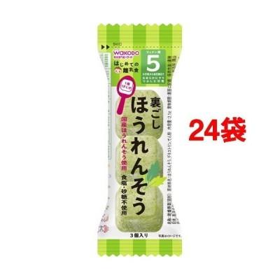 和光堂 はじめての離乳食 裏ごしほうれんそう ( 2.1g*24袋セット )/ はじめての離乳食