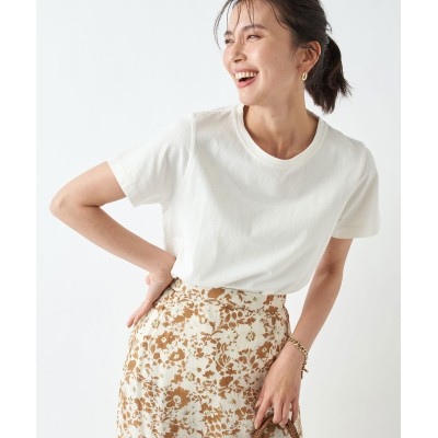 【動画付き《お洒落な雰囲気漂う》】USコットンショートスリーブTシャツ