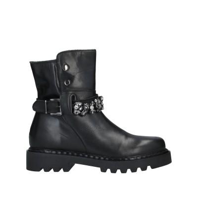 J-ERO' ショートブーツ ブラック 36 牛革(カーフ) ショートブーツ