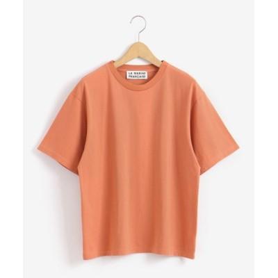 NIMES/ニーム バックプリントTシャツ MARINE オレンジ フリー