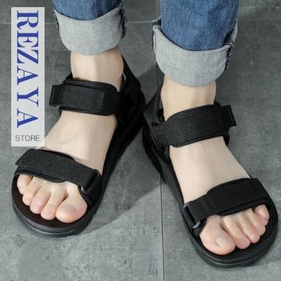 サンダル メンズ アウトドアサンダル カジュアル サボサンダル スポーツサンダル  韓国風  カジュアル  通気性良い  柔らかい  靴 メンズサンダル