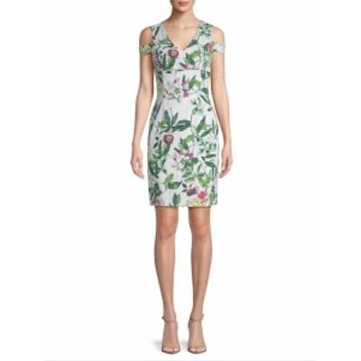 ドナリッコ レディース ワンピース Floral Cold-Shoulder Dress