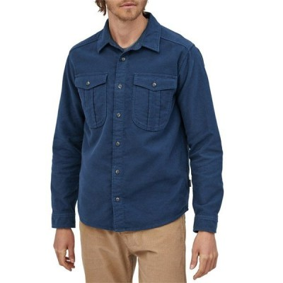 パタゴニア メンズ シャツ トップス Patagonia Long-Sleeved Topo Canyon Moleskin Shirt