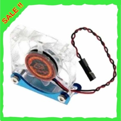 イーグル模型 超高速クーリングファン・9フィン40x40x7.4mm (7.2*8.4V) スタンド付[LBL] 3242-LBL
