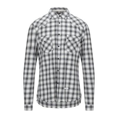 DNL シャツ ブラック 40 コットン 100% シャツ