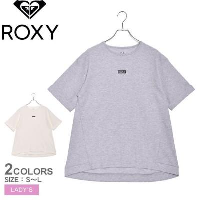(30%以上OFF) ロキシー Tシャツ 半袖 レディース DAY AFTER DAY ROXY RST211066 グレー ホワイト 白 トップス 半袖 カジュアル スポーティ ロゴ