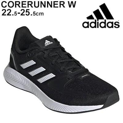 ランニングシューズ レディース アディダス adidas CORERUNNER W/ジョギング トレ