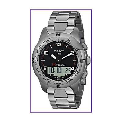 Tissot Men's T0474204405700 T-Touch II Men's Black Quartz Touch Watch 並行輸入品