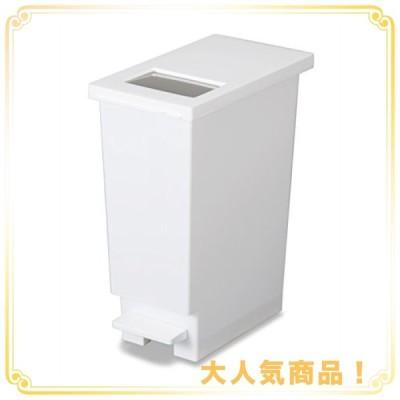 トンボ ユニード ゴミ箱 プッシュ & ペダルペール 20L ホワイト