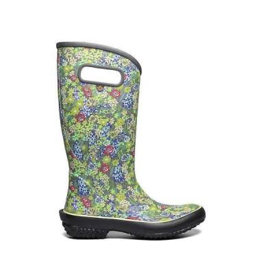 ボグス レディース ブーツ・レインブーツ シューズ Bogs Women's Rainboot Night Garden Boot