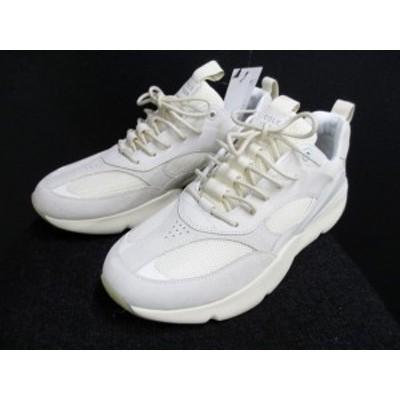 定価37000円の半額コールハーン ゼログランドcole haan zero新品箱付厚底ソールシューズダッドスニーカー靴27白(qz11804)