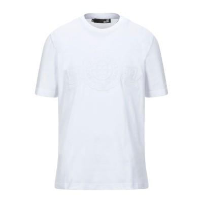 ラブ モスキーノ LOVE MOSCHINO T シャツ ホワイト M コットン 100% / ポリウレタン T シャツ
