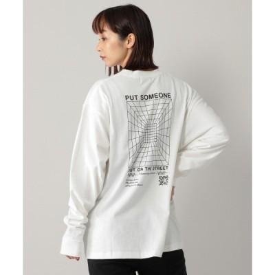 tシャツ Tシャツ 【PAGEBOYLIM】サイバースペースロンTシャツ /プリントロンT